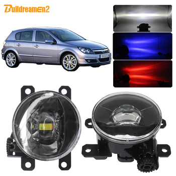 Buildreamen2 Car Fog Light Assembly 4000LM LED Projector Fog Lamp H11 12V Accessories For Opel Astra G H 1998-2010 image