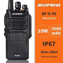IP67 Waterproof Baofeng S56 10W High Power Walkie Talkie UHF