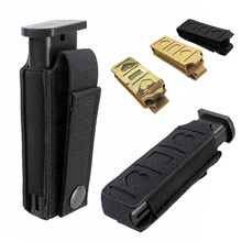 Elastic Magazine Pouch Molle Tactical Handgun Airsoft Accessories Hunting Equipment Pistol Magazine Holder EDC Waist Belt Bag