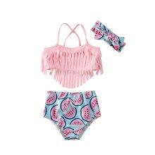 Купальный костюм принцессы для малышей, купальник для маленьких девочек, бикини, танкини, купальный костюм, пляжный костюм, одежда из 3 предметов