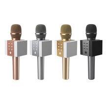 Металлический конденсаторный микрофон динамик беспроводной портативный