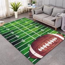 baseball Green Football carpet kids room soccer rug field parlor bedroom living room floor mats children large rugs home mat 005