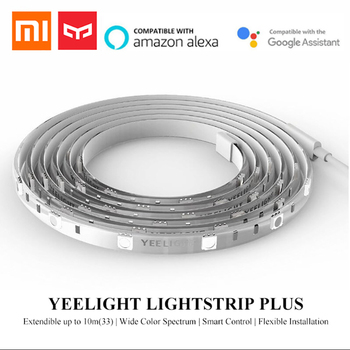Yeelight RGB LED 2M Light Strip Smart Control for Mi Home APP WiFi Works with Alexa Google Home Assistant 16 Million Colorful