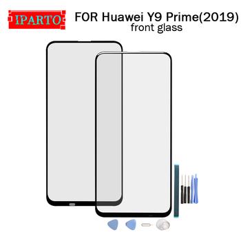 Dla Huawei Y9 Prime (2019) szkło przednie obiektyw 100 nowy przedni ekran dotykowy szklany obiektyw zewnętrzny dla Y9 Prime (2019)+ narzędzia tanie i dobre opinie NONE CN (pochodzenie) for Huawei Y9 Prime (2019) 6 59 inch Front Glass Lens pieces 0 200kg( 0 44lb ) 19cm x 12cm x 7cm(7 48in x 4 72in 2 75in)