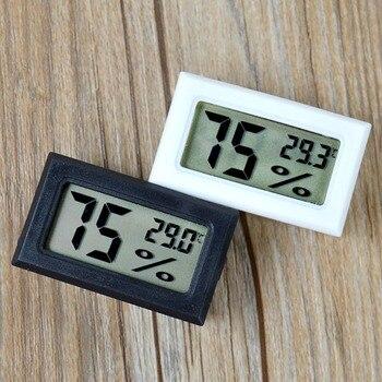 цена на Mini Digital LCD Indoor Convenient Temperature Sensor Humidity Meter Thermometer Hygrometer Gauge
