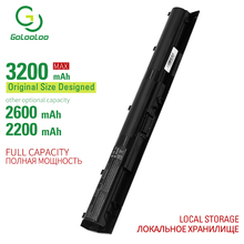Golooloo 4 cells laptop battery for Hp Pavilion 14-ab005TU ab006TU ab011TX ab012TX ab013TX 15-ab016TU ab017TU ab018TU ab036TX