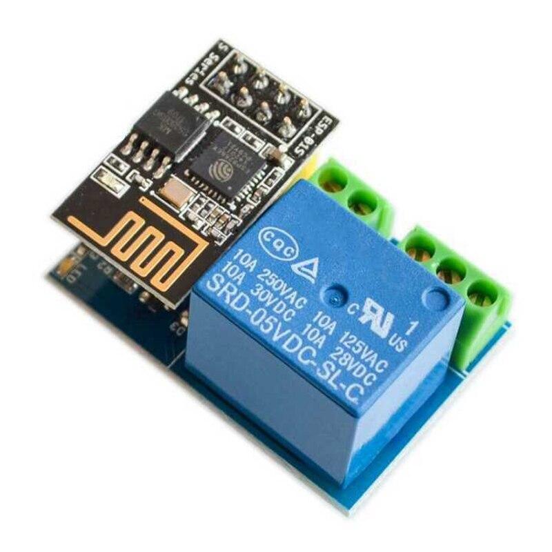 ESP8266 ESP 01S триггерный релейный модуль реле WI FI умная розетка Управление переключатель с помощью приложения на телефоне для умного дома IOT|Комплекты умного дома|   | АлиЭкспресс