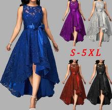 Zogaa 5 Цвета размера плюс 5xl женское кружевное платье joineles