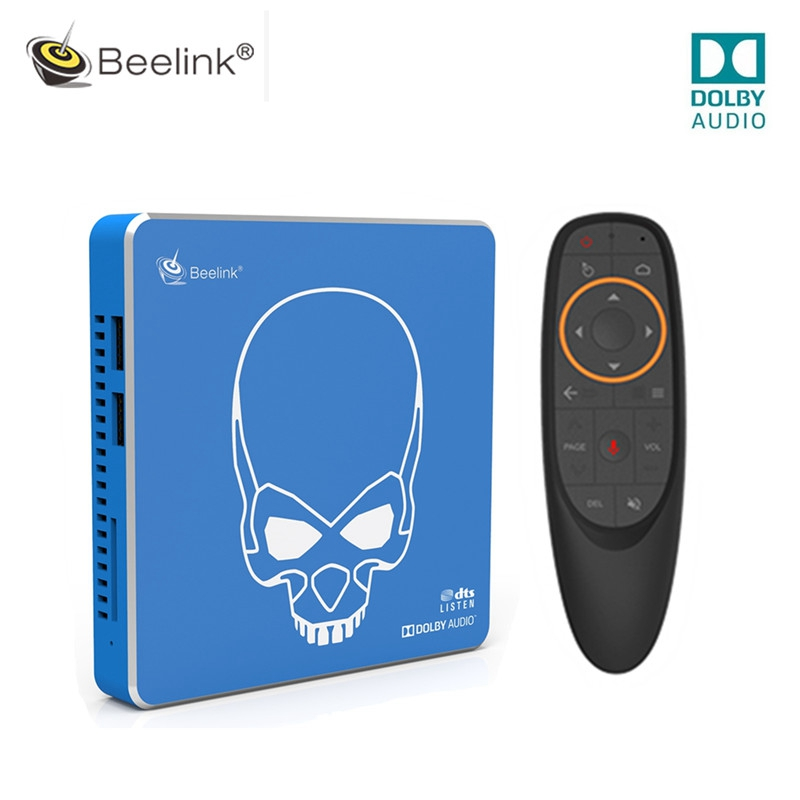 Beelink GT-King Pro Hi-Fi Lossless Sound Smart TV Box Dolby Audio Dts Listen Amlogic S922X-H Android 9.0 4GB 64GB Media Player(China)