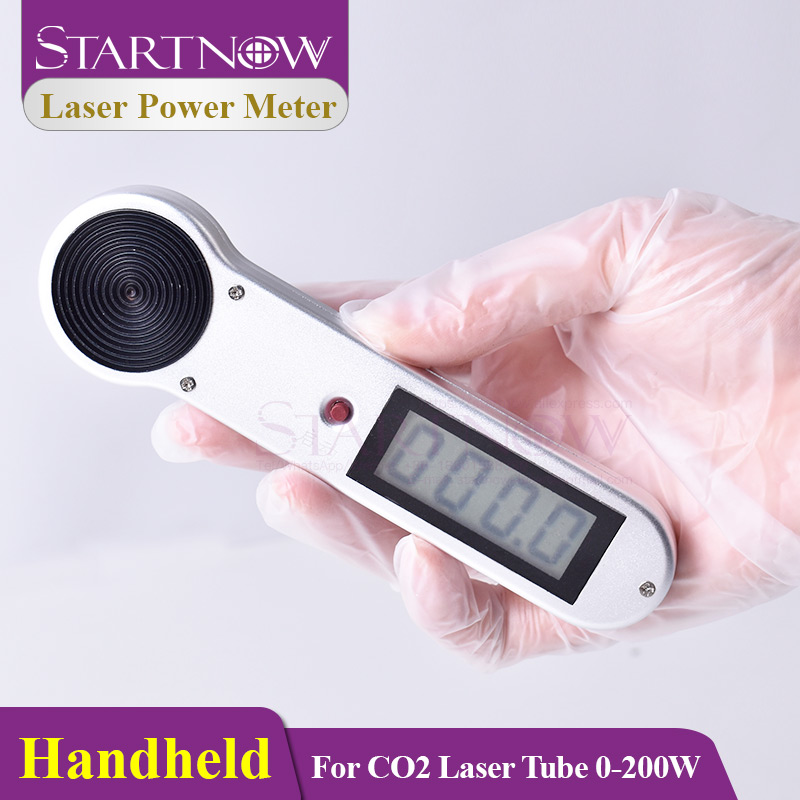 Startnow Handheld CO2 Laser Tube Power Meter 0-200W HLP-200 For 1064um Laser Engraving Cutting Machine Handy Lamp Dynamometer