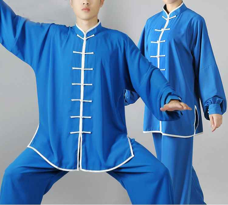 17 farben top qualität Unisex tai chi uniformen taijiquan wushu übung anzüge kung fu kampfkunst training kleidung rot/ grau/blau