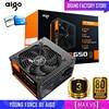 Aigo fonte Max 850W güç kaynağı 80 artı PSU PFC sessiz Fan ATX 24pin 12V PC bilgisayar SATA oyun PC güç kaynağı Intel AMD