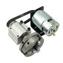 Многофункциональный поворотный токарный деревообрабатывающий станок шпинделя 50/65 патрон инструмент наперсток 12 V-24 V DIY деревообрабатывающий станок