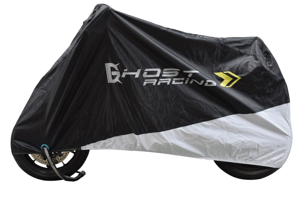 Waterproof Motorcycle Cover Heavy Duty Dust proof Rain Shelter Outdoor UV Protector for All Seasons Car Covers    - title=
