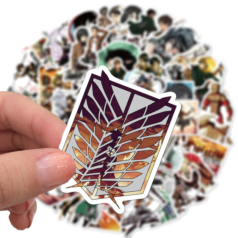 Attack on Titan Shingeki no Kyojin Stickers 10/50/100Pcs 4