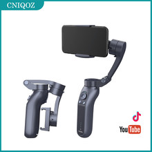 CNL7B Gimbal 3 Axis Handheld Smartphone Stabilizer Bluetooth Selfie Stick For Action Gopro Camera Video Tik Youtube Tok Vlog
