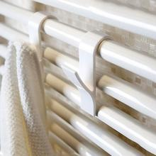 5pcs White Towel Mop Coat Hooks Transparent Storage Hanging For Bath Heated Radiator Clothes Hanger Organizer Decoration