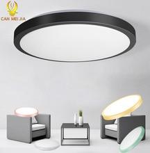 Led Decke Lichter Leuchte 220V 30W 50W 70W 22W Moderne Decken Lampe Lichter für Wohnzimmer zimmer Schlafzimmer Küche Veränderbar Farben