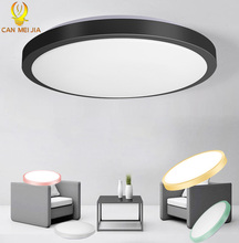 Led plafonniers luminaire 220V 30W 50W 70W 22W moderne plafonnier lumières pour salon chambre cuisine couleurs changeantes