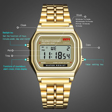 Men Sport Casual LED Watches Women Men's Digital Clock Waterproof