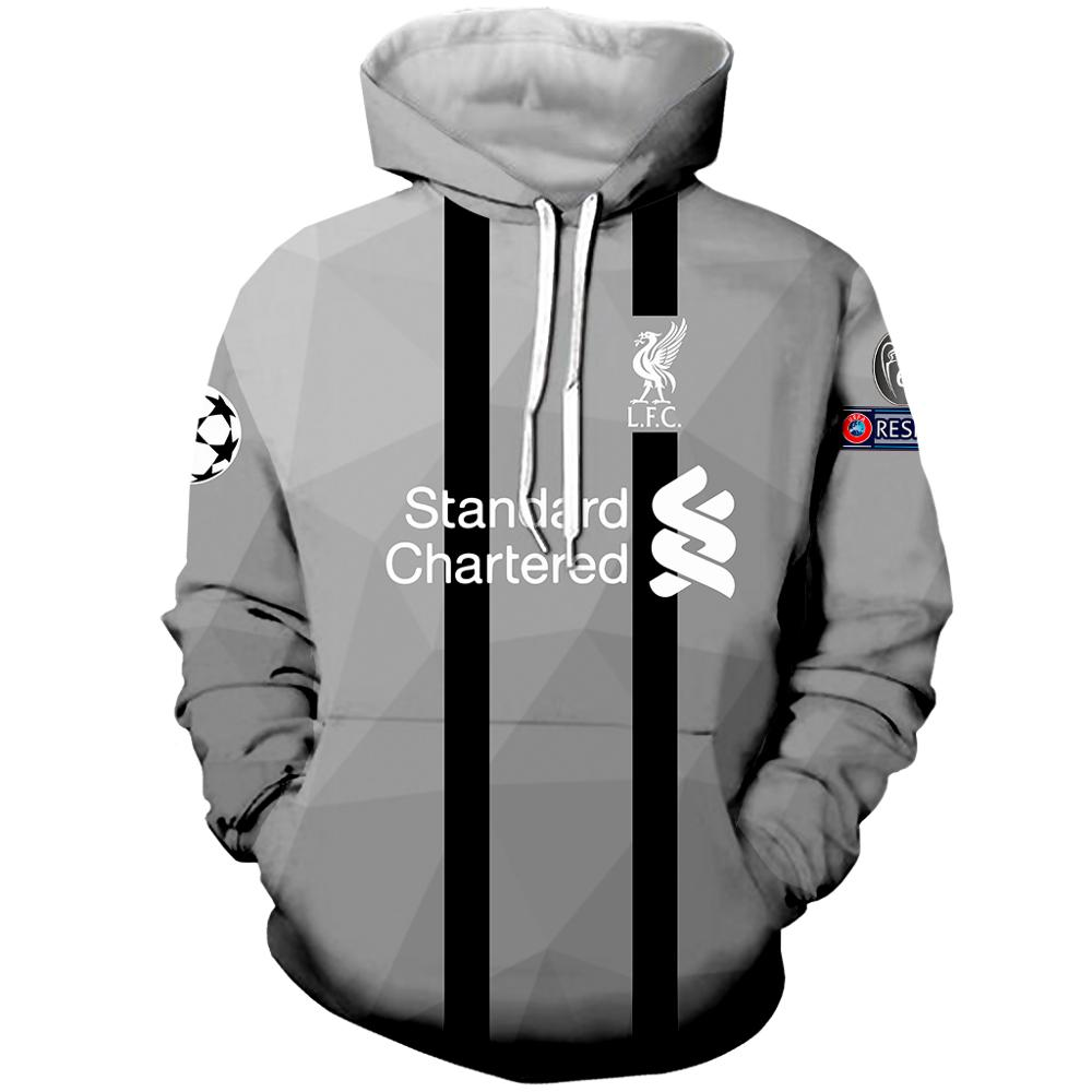 Liverpool Fashion Hoodie 3D Print Hoodie Men And Women Casual Hoodie Outdoor Sports Football Shirt спортивный костюм мужской