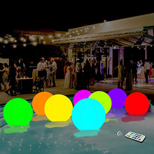 Glowing-Ball Entertainment Flying-Discs Beach-Ball Led 13-Colors Swimming-Pool-Toy Inflatable