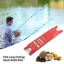 12 pva sacs 100x100 40 pré remplies pré attaché mesh pellet boules carpe appâts de pêche
