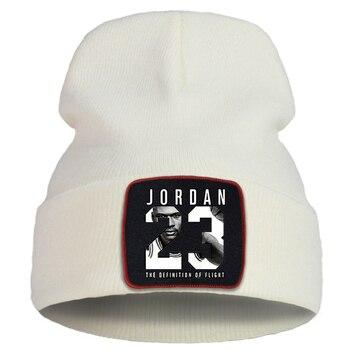 כובע בצבע לבן עם פרווה