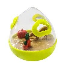 Собака, кошка, игрушка-неваляшка утечка еды мяч головоломка игрушка пластиковая Интерактивная многофункциональная кормушка для собак