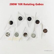 Litewinsune verre à Gobos rotatifs pour éclairage de scène, faisceau 10R 280W, Spot 17R, accessoires de remplacement