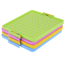 Teaching Instrument Puzzle Game Toy Nailboard Tool Plastic Nail Plate Primary Mathematics Geometry Demo Children Educational Toy(China)