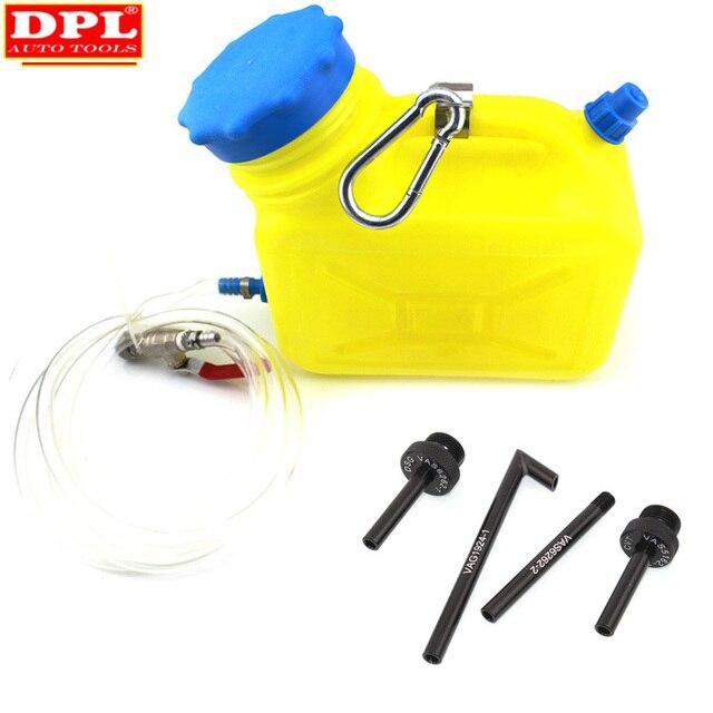 Auto Cvt/Dsg Transmissie Olie Bijvullen Refill Tool 4 Stuks Dsg Cvt Olie Vullen Adapter Voor Vw Audi