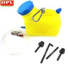 Auto cvt/dsg transmissão de óleo reenchimento ferramenta 4pcs dsg cvt adaptador de enchimento de óleo para vw audi