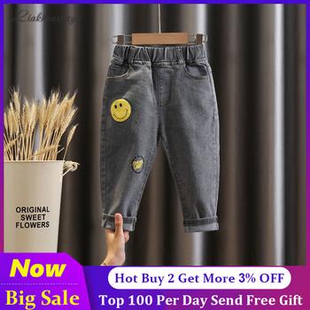 2-6 lat dziewczęce jeansy dla dzieci babie lato chłopięce spodnie jeansowe dziecięce ubrania bawełniane dorywczo spodnie dziecięce Denim chłopięce tanie i dobre opinie Liakhouskaya Na co dzień CN (pochodzenie) Dobrze pasuje do rozmiaru wybierz swój normalny rozmiar ALBABA124 Elastyczny pas