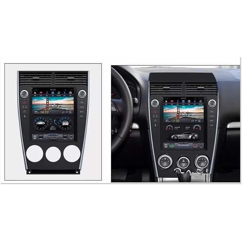 CHOGATH 10.4 ''android 7.1 Vertical Screen <font><b>system</b></font> 2+32G Car Radio <font><b>GPS</b></font> Multimedia Stereo for old <font><b>mazda</b></font> <font><b>6</b></font> 2002-2015 with maps image