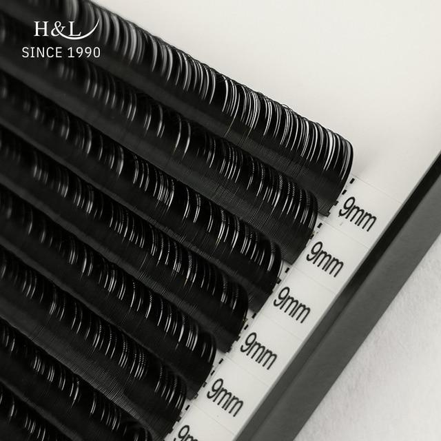 H&L SINCE 1990 16Rows Faux mink individual eyelash extensions for professionals soft mink matte lash 2