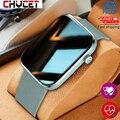 Смарт-часы CHYCET для мужчин и женщин, пульсометр, кровяное давление, фитнес-трекер, часы с музыкальным управлением, спортивные Смарт-часы для ...