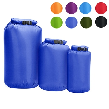 цена на 3 Piece Set 8L 40L 70L Waterproof Dry Bag Pack Sack Swimming Rafting Kayaking River Trekking Floating Sailing Canoing Boating Wa