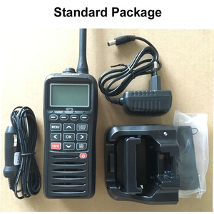 Image 5 - Recente RS 38M Vhf Radio Ingebouwde Gps 156.025 163.275 Mhz Float Transceiver Tri Horloge IP67 Waterdicht walkie Talkie