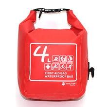 Sac de trousse de premiers soins Portable 3/couleur, Kit d'urgence étanche et résistant, sac bandoulière pour randonnée voyage maison voiture urgence