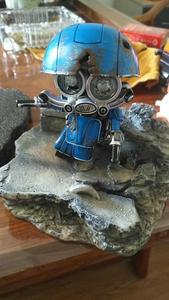 Image 5 - COMIC CLUB weijiang battle damage Q Ver AUTOBOT SQWEEKS metal alloy parts Action Figure robot toy