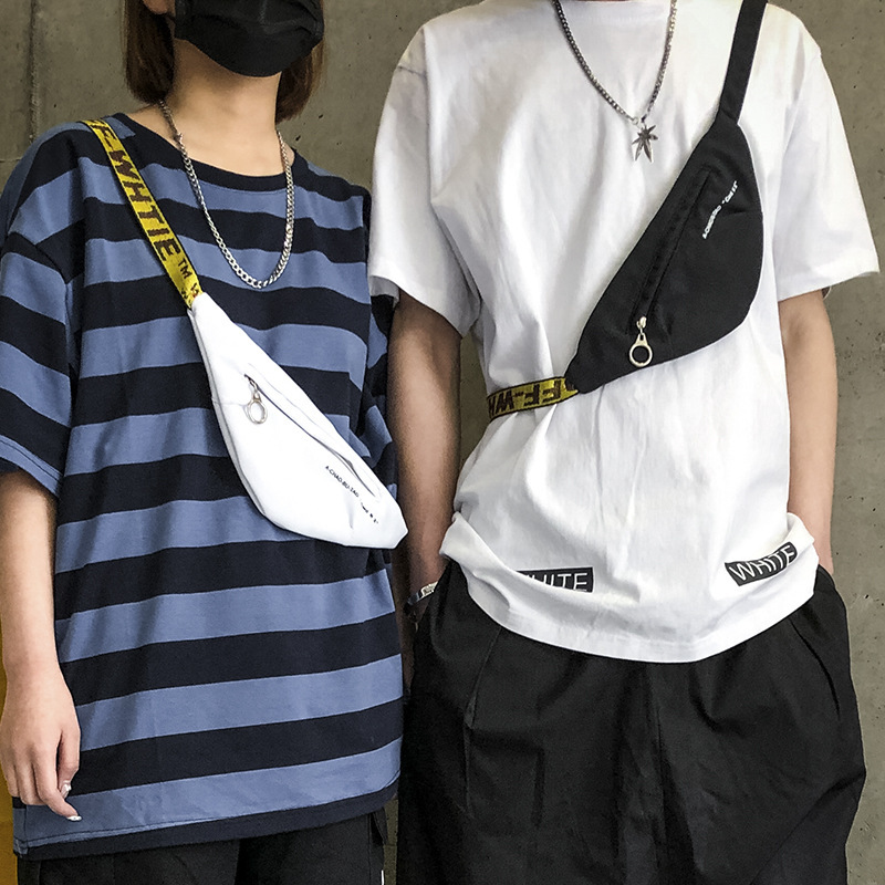 Unisex Mini Fanny Waist Pack Belt Bag Fashion Oxford Solid Man Women Contracted Portable Zipper Bum Bag Chest Packs Money Purse