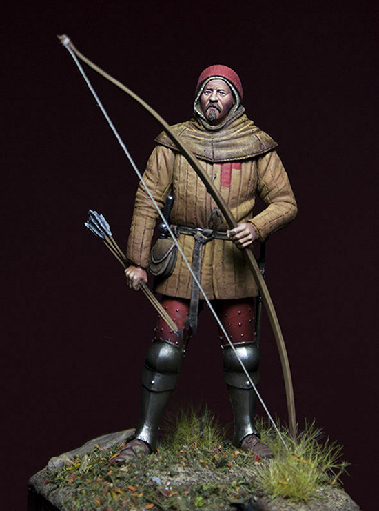 1/24 75mm    Ancient Man Stand With Arrow   Resin Figure Model Kits Miniature Gk Unassembly Unpainted