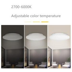 Image 5 - Yeelight חכם LED תקרת אור חכם בית חכם שלט רחוק jiaoyue 260 עגול תקרת מנורה