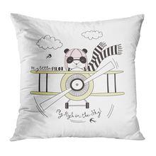 Наволочка для диванной подушки с мультипликационным рисунком