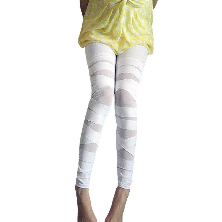 2019 Spring And Summer New Style Leggings Women's Bandage Cloth Qmilch Gauze Capri Pants Cross Bundled Skinny Pants