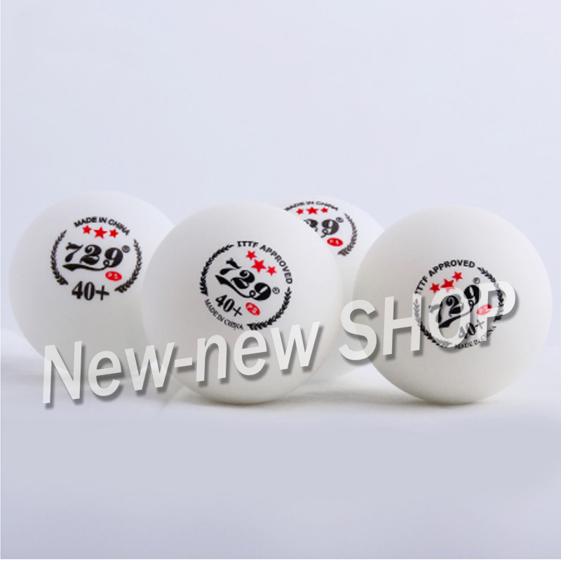 Genuine 729 Friendship 3-Star Seam 40+ Plastic Table Tennis Balls New Material ITTF APPROVED Poly Ping Pong Balls
