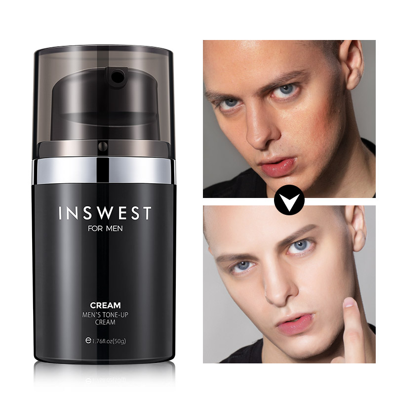 50g Men's Whitening Sunscreen Cream SPF 45+ Face&Body Protective Cream Anti-sensitive Oil-control Moisturizing Isolation