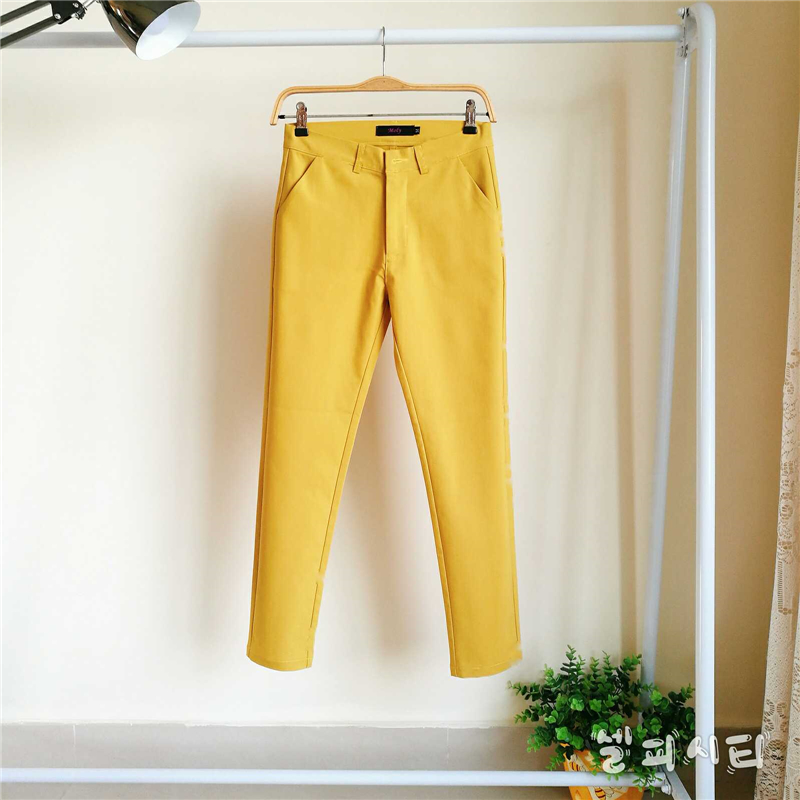 Mom's Slim Waist Oversized 4XL Pants Vintage High-quality Comfortable Cotton Pants Street Wear Pencil Stretch Pants High Waisted