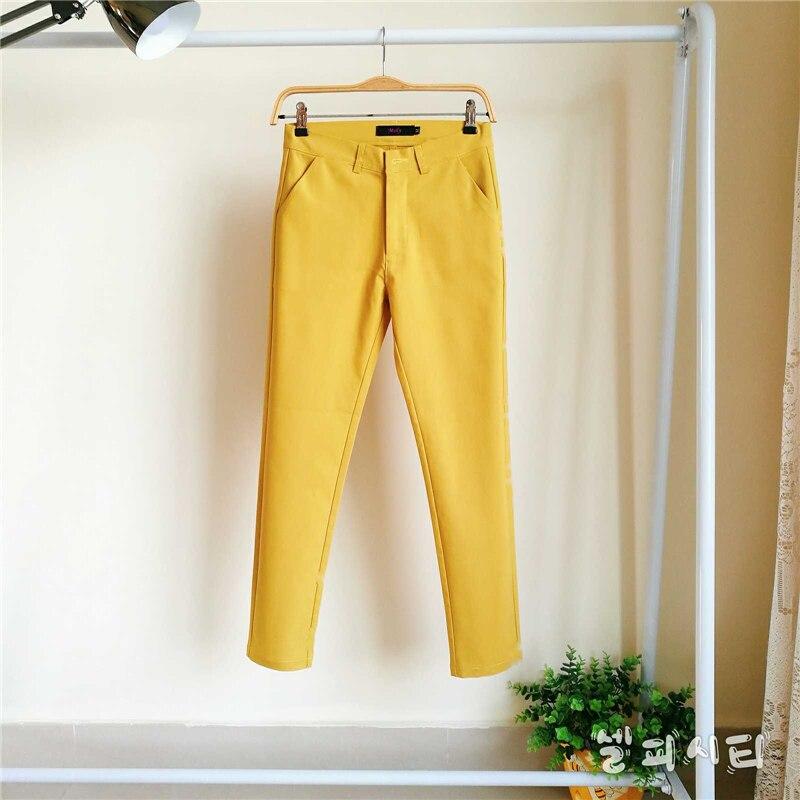 Узкие брюки для мамы, большие размеры 4XL, винтажные удобные хлопковые брюки высокого качества, уличная одежда, узкие Стрейчевые брюки с высо...